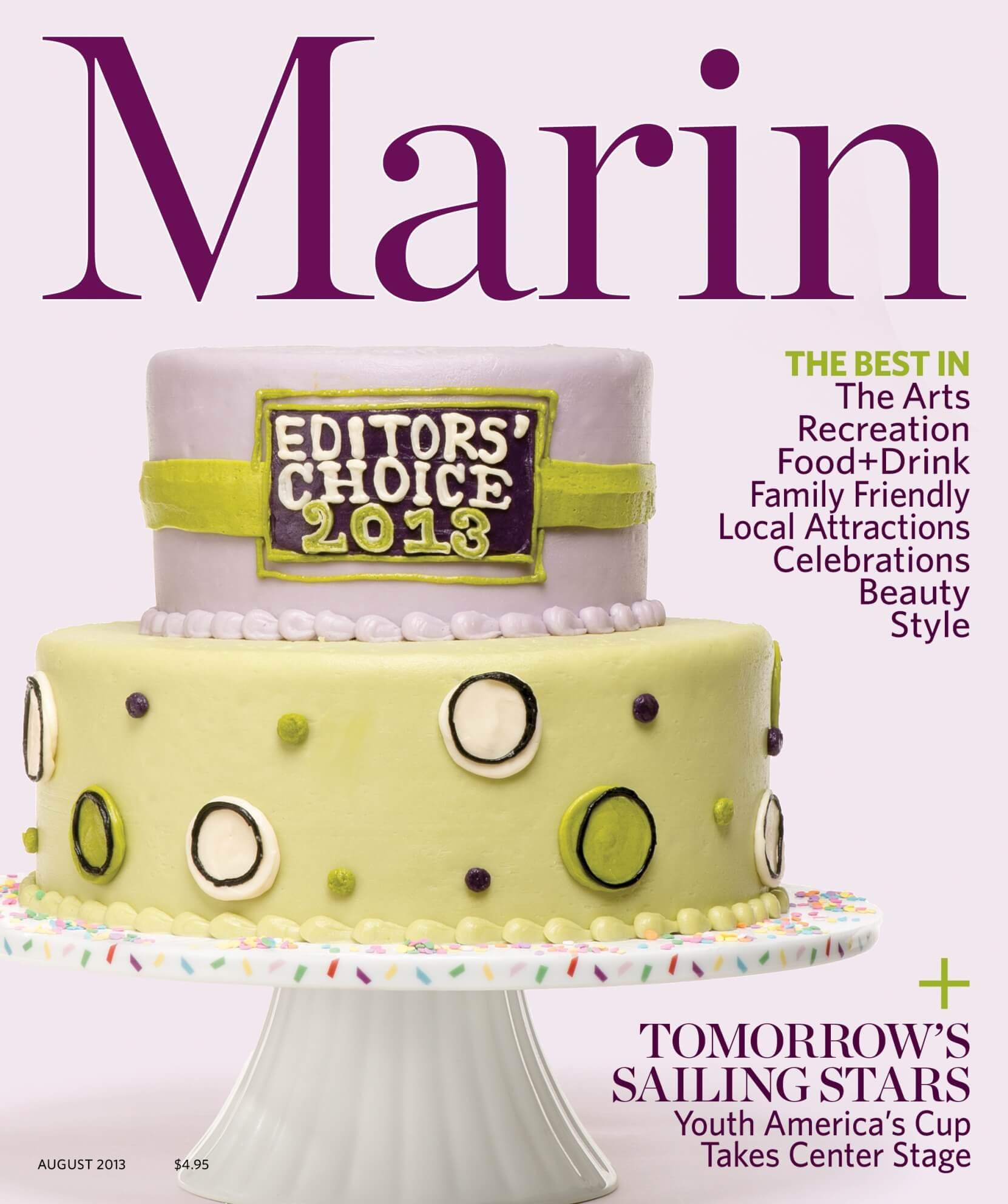 Marin mag August 2013