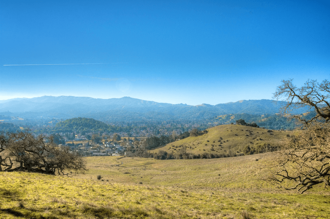 Marin county has great weather!