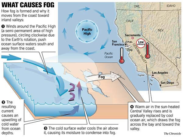 What causes Fog