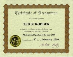 Speaker of the Year Award, 2009